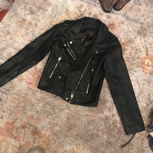 Blank NYC black leather jacket! Never worn!
